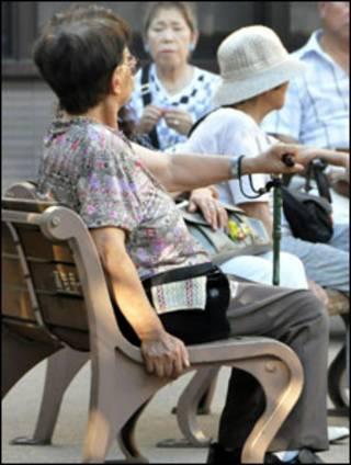 Người già ở Tokyo