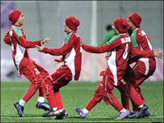 تیم فوتبال دختران ایران