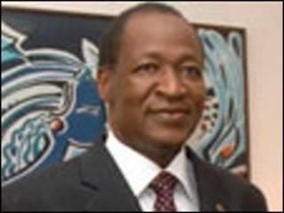 Shugaba Blaise Campaore na Burkina Faso