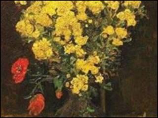 """لوحة """"زهرة الخشخاش"""" المسروقة"""