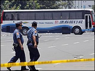 O ônibus sequestrado em Manila