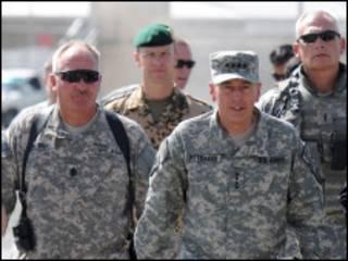 ژنرال پترائوس در افغانستان