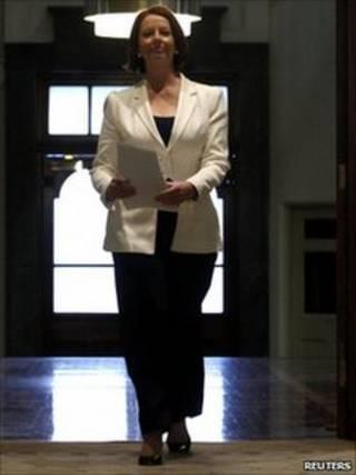 Thủ tướng đương nhiệm Julia Gillard