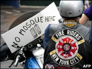 مخالفان ساخت مسجد در نیویورک