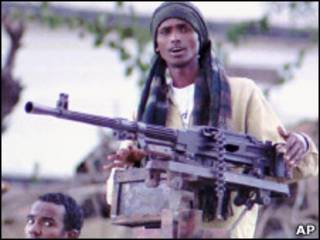 مقاتل صومالي