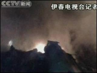 Kecelakaan pesawat di Hilongjiang