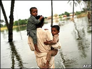 Последствия наводнений в Пакистане