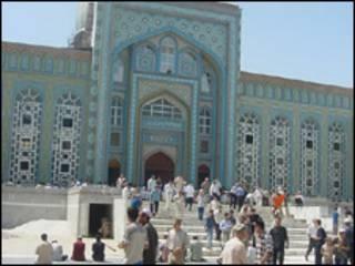 Мечеть в Таджикистане