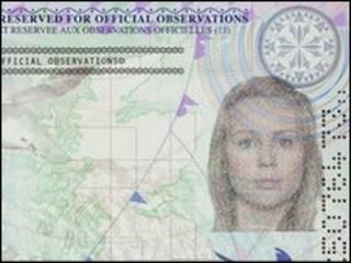 英国新护照