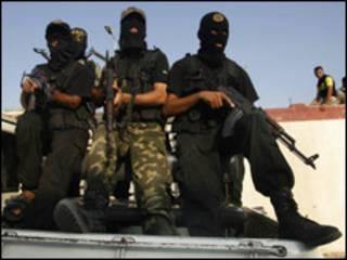 مسلحون في غزة