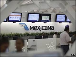 Guichê da Mexicana (arquivo)