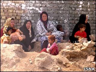 روستائیان زلزله زده