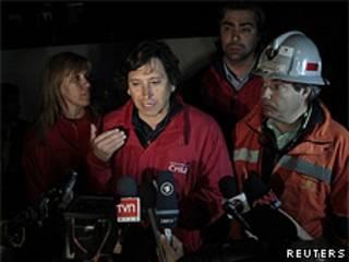 Laurence Golborne, ministro de Minería de Chile