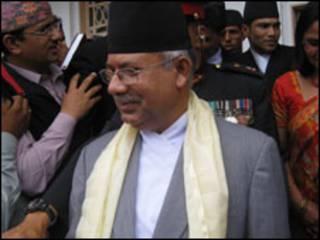 प्रधानमन्त्री माधवकुमार नेपाल