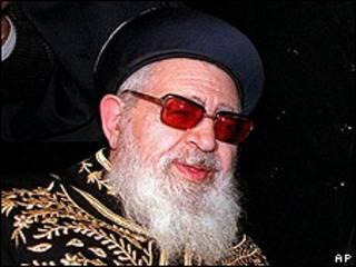 Духовный лидер партии ШАС Овадья Йосеф