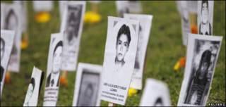 Memorial a los muertos durante el conflicto armado en Perú