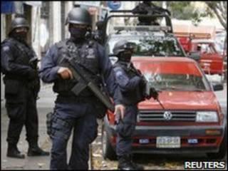 پلیس مکزیک