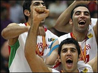 تیم بسکتبال ایران