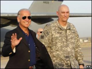 Joe Biden em Bagdá