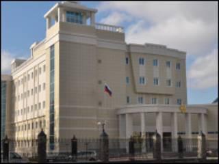 Посольство РФ в Минске (фото с сайта посольства)