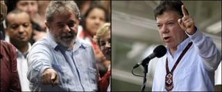 Lula y Santos