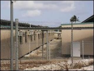 Construction Camp di Pulau Christmas, tempat anak kecil, wanita dan keluarga tanpa anak held (Courtesy of Amnesty International)