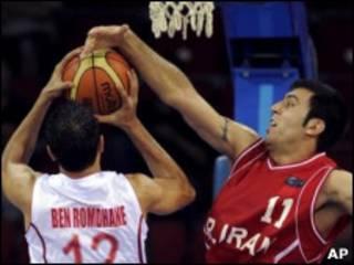مسابقه ایران و تونس