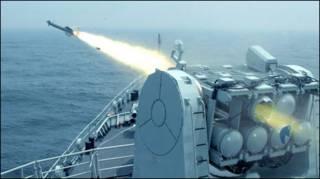 Một cuộc tập trận của hải quân Trung Quốc
