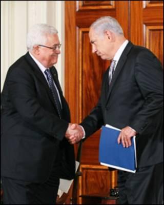 دیدار اوباما، عباس و نتانیاهو