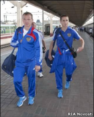 Александр Анюков и Владимир Быстров