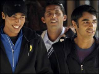 لاعبو الكريكيت الباكستانيون الثلاثة