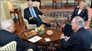 Lãnh đạo Trung Đông và Hoa Kỳ gặp gỡ