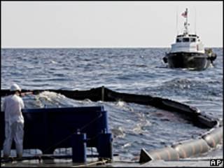 Trabajos sobre la Deepwater Horizon