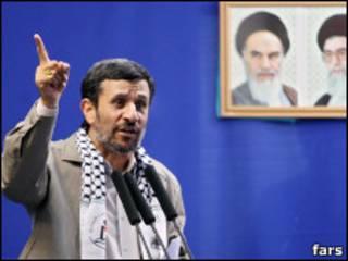 احمدی نژاد در نماز جمعه روز قدس