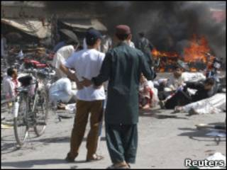 Взрыв в Кветте