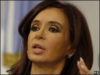 Cristina Fernández presidente argentina