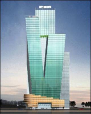 Mô hình toà nhà Vinashin Tower