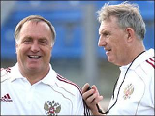 Дик Адвокат и Берт ван Линген. Фото с сайта РФС