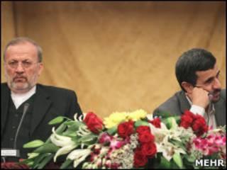 احمدی نژاد و متکی
