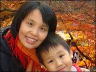 ताईवान-माँ और बच्चा