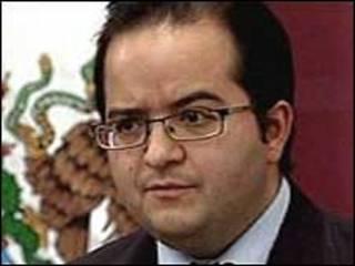 Alejandro Poiré, porta-voz do gabinete de Segurança Nacional