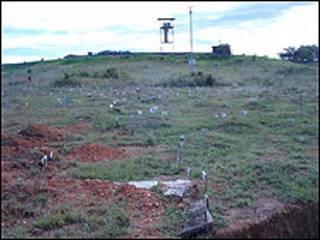 Cementerio en La Macarena (foto cortesía ONU).