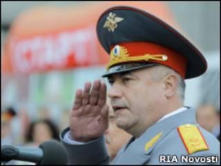 Начальник ГУВД Москвы Владимир Колокольцев