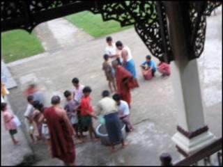 Rakhine children