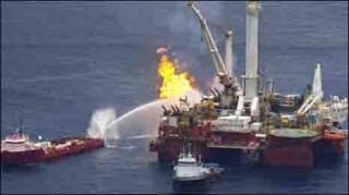मेक्सिको की खाड़ी में तेल रिसाव