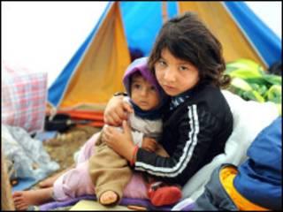 اطفال غجر في فرنسا