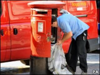 皇家邮政邮递员