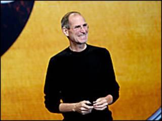 Steve Jobs en una presentación de Apple