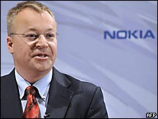 Stephen Elop, futuro director de Nokia
