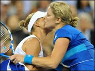 Kim Clijsters na Vera Zvonareva